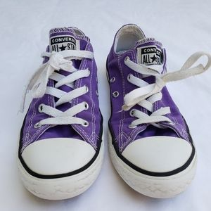 Purple Converse All⭐Star, youth size 2